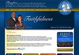 New Life Sterling Website Design