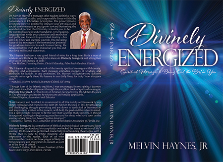Divinely Energized - Spiritual Book Cover Design