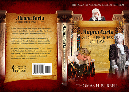 Magna Carta & Due Process of Law - Book Cover Design