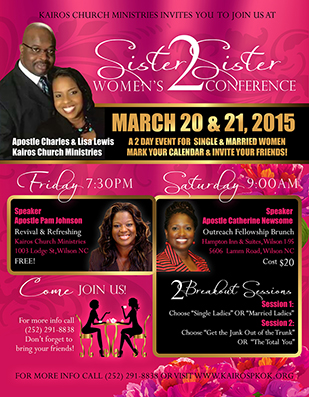 Christian Flyer Design - Christian Church Event Conference ...