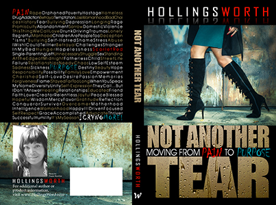Not Another Tear - Christian Book Cover Design
