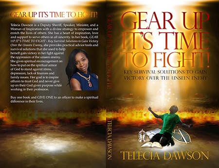 Gear Up It's Time to Fight - Book Cover Design