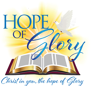 Hope of Glory Church logo design