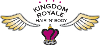 Kingdom Royale Hair n' Body Business Logo Design