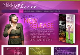 Web design for Christian author
