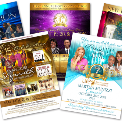 Christian Flyer Design