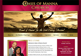 Oasis of Manna Church Weehawken New Jersey