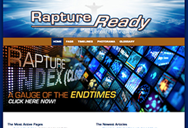 Christian Web Design for Rapture Ready End Times Prophecy website