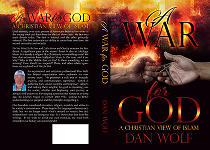 A War for God - Christian Book Cover Design