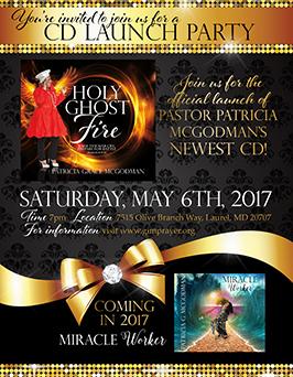 CD Launch Flyer