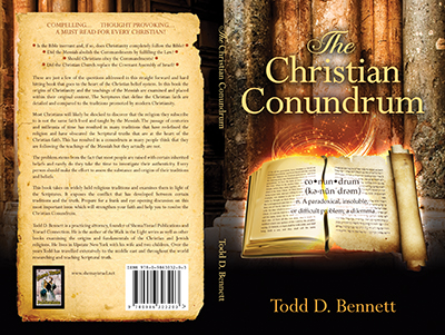 The Christian Conundrum - Cover Design
