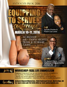 Christian Equipping Conference Flyer