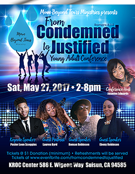 Flyer design for Youth/Young Adult Conference