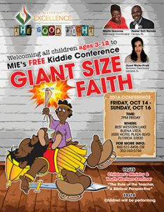 Children's Conference Flyer