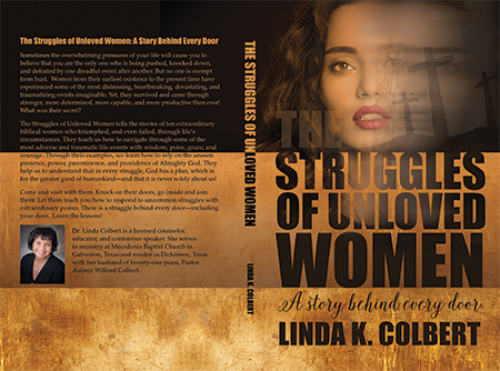 Struggles of Unloved Women - Christian Book Cover Design