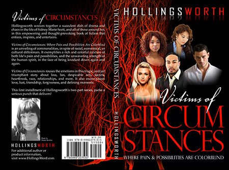 Victims of Circumstance - Book Cover Design