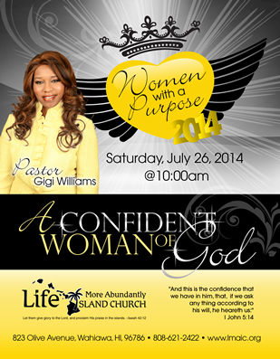 Christian Womenu0027s Ministry Flyer Design  Flyer Samples For An Event