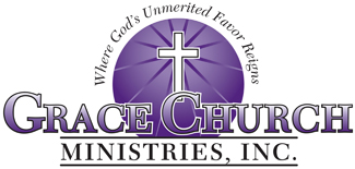 Grace Church Ministries International Church Logo Design