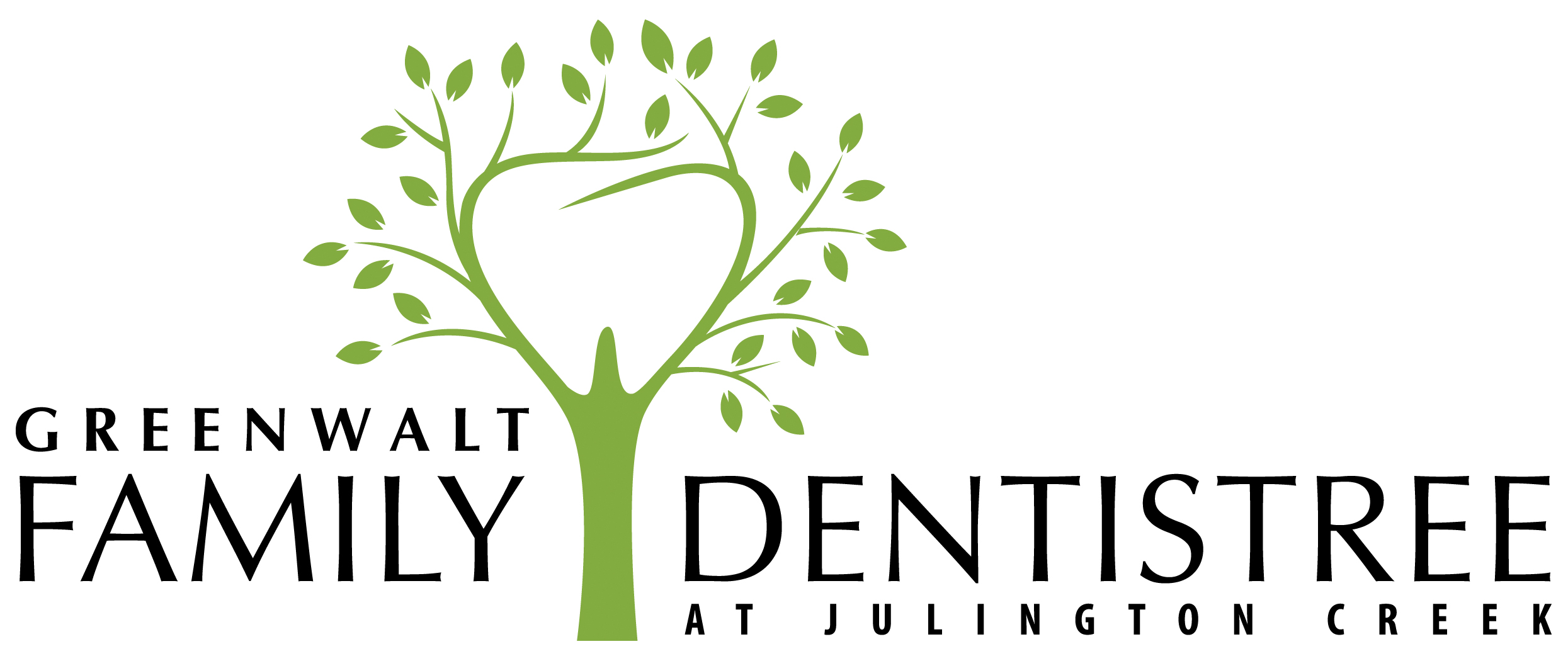 Greenwalt Family Dentistry Logo Design