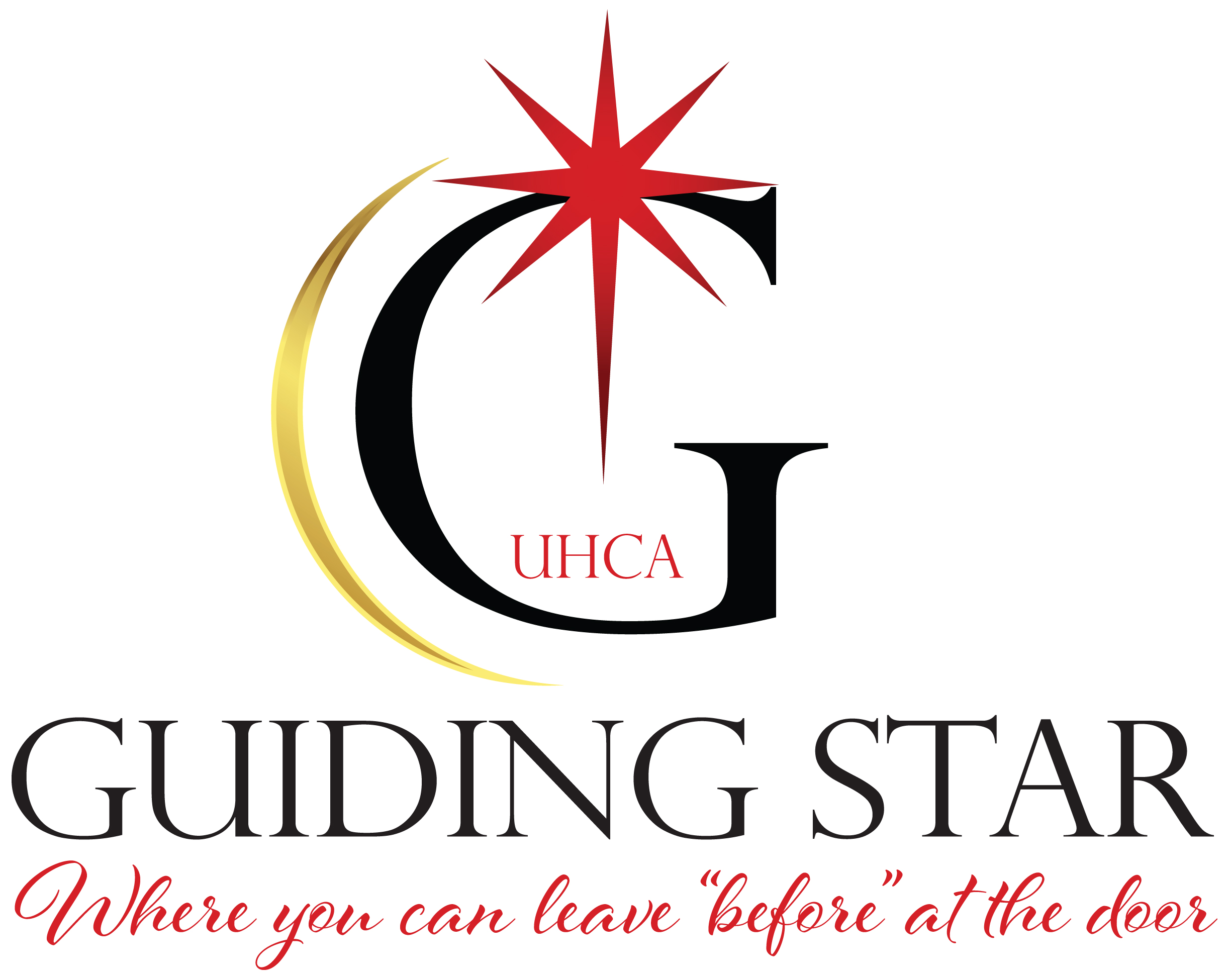 Guiding Star UHC Church Logo Design