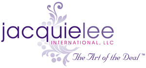 Jacquie Lee International Business Logo Design