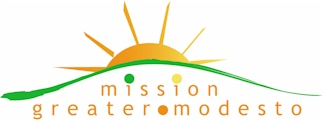 Mission Greater Modesto Ministry Logo Design