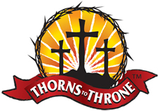 Thorns to Throne Ministry Logo Design