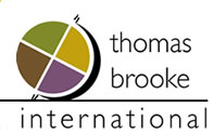 Thomas Brooke International Business Logo Design