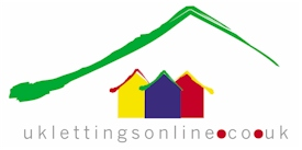 UK Lettings Online Business Logo Design