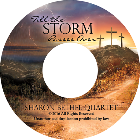 Sharon Bethel Quartet CD Cover Design