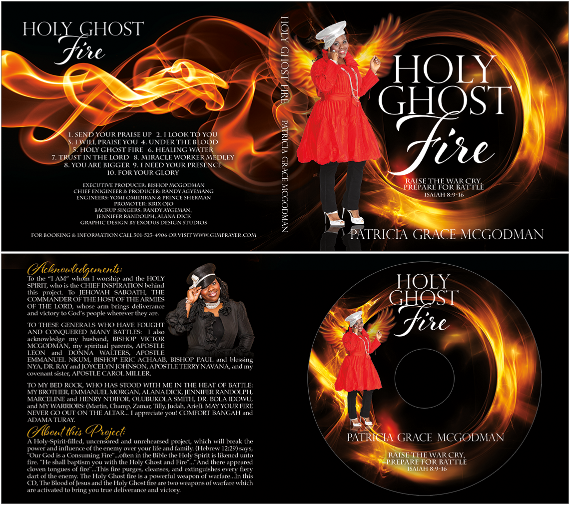 Holy Ghost Fire CD